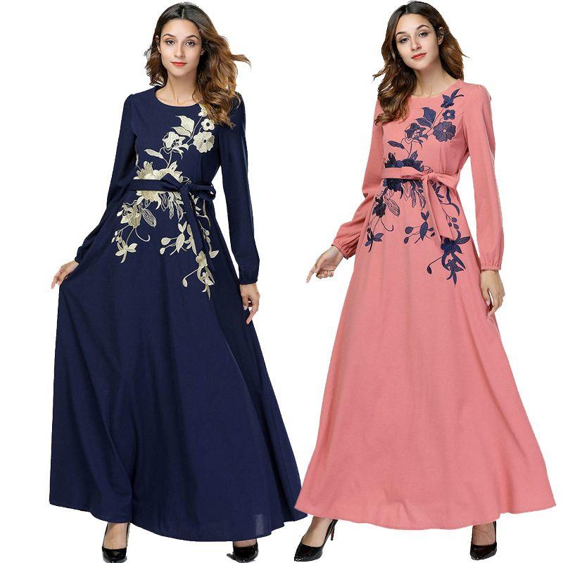 Acheter Abaya Bangladesh Musulman Hijab Robe Jilbab Turc Islam Qatar Robe  Musulman Dubaï Caftan Abayas Femmes Caftan Vêtements Islamiques De $32.67  Du