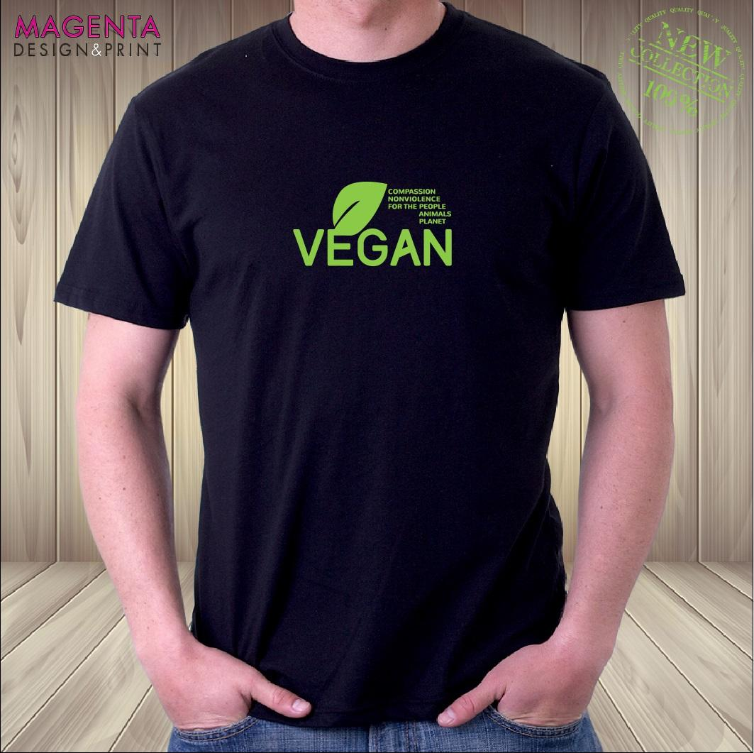 Vegan Vegetarian T ShirtoUNISEXoLADYFIToGR8 Birthday Gift IdeaoFREE DELIVERY Quirky Shirt Designs Purchase From Xsy12tshirt 1205