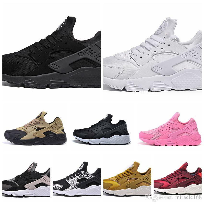 49eff5b3f201 Fashion Air Huarache Ultra Shoes Huarach Rainbow Ultra Breathe Shoes Men    Women Huraches Multicolor Athletic Sneakers Size 5.5 12 Cheap Running Shoes  Girls ...