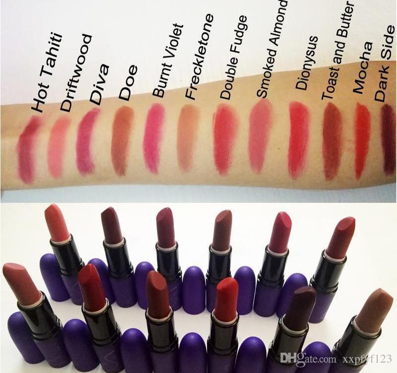 cheapBrand Selena Matte Lipstick Cosmetics Lip Matte Velour Make up Lip Gloss Waterproof Long Lasting Lips