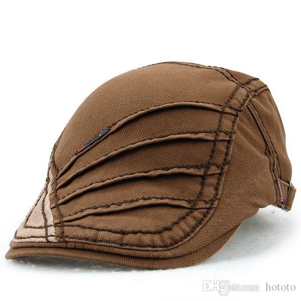3a8f3c7590f Wholesale Fashion Retro Berets Baseball Caps Gentleman Snapbacks ...