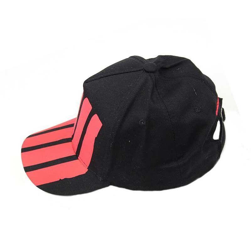 Compre 2018 Unsiex Moda Negro Rojo Spired Gorra De Béisbol Hombres Gorras  De Bola Ajustables Mujeres Sombrilla Cap Para Viajes Al Aire Libre A  4.03  Del ... 8b89f8ba24d
