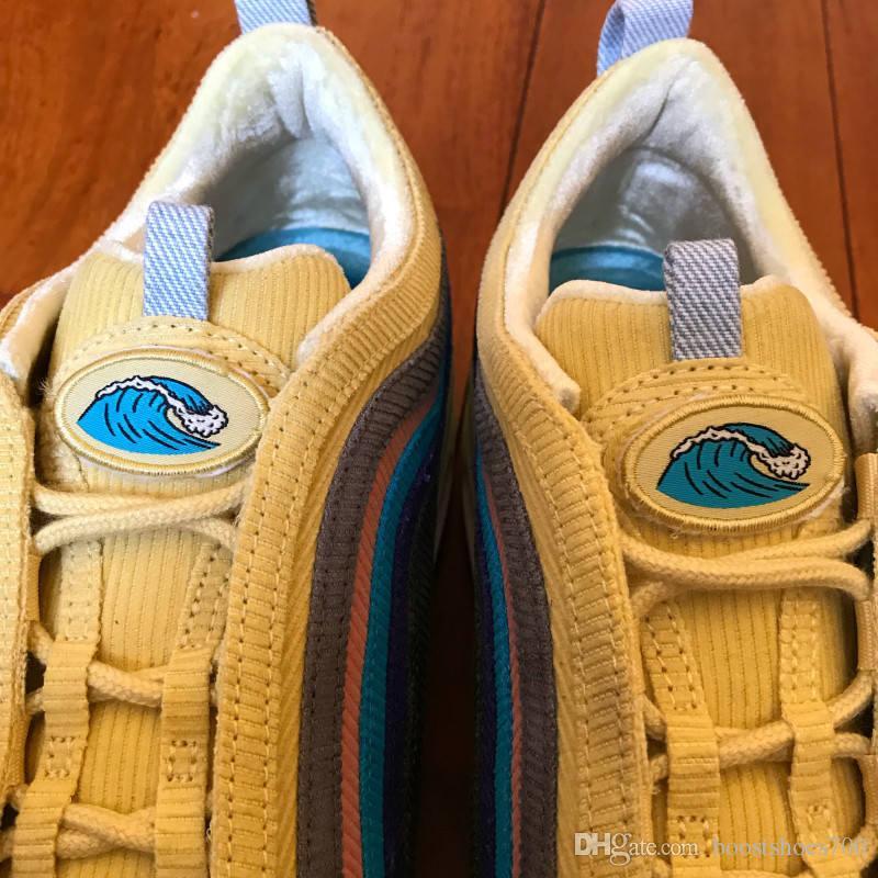 2020 الجديدة شون Wotherspoon الرجال الاحذية الأعلى للمرأة الكبريت حية متعدد الأصفر الأزرق الهجين الرياضة حذاء رياضة 36-45