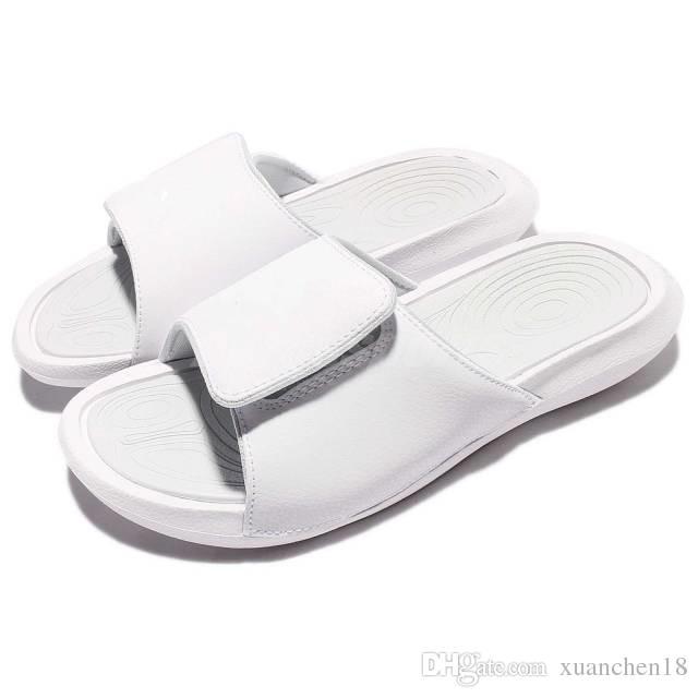 f2da665c7e93 Hydro 60 Hot Sandal Summer Slippers Casual Men Woman White Non-slip ...