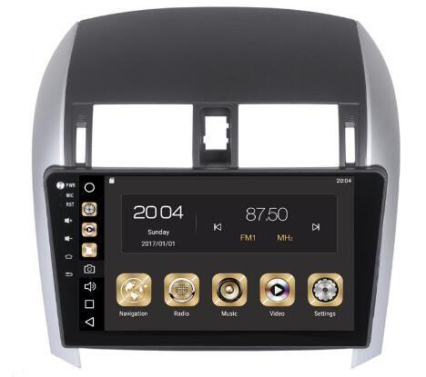 4GRam 32GB Rom Android 8.0 Car DVD Gps para Toyota COROLLA 2006-2011 Radio Navigation Unidad estéreo principal Multimedia Vedio WIFI