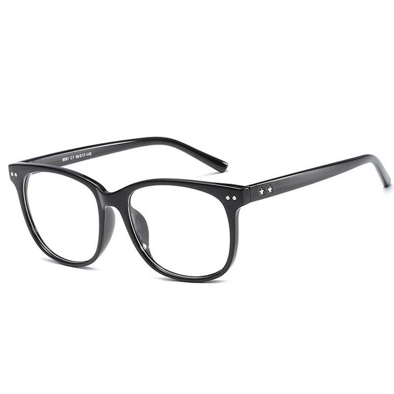 3ff4ad882ac413 Compre Marcos De Gafas Gafas Marcos De Ojos Para Mujeres Hombres Gafas  Marco Lentes Claros Para Mujer Óptico Para Hombre Espectáculo De Diseñador  De Damas ...