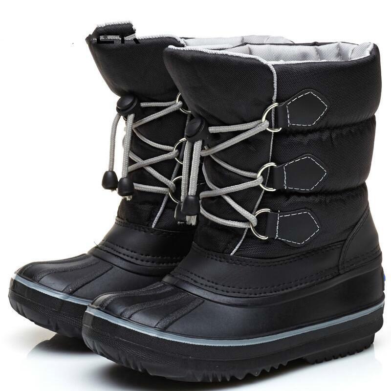 ceea89eaf Compre Botas De Fieltro De Felpa Zapatos De Invierno Niños Calientes Niños  Zapatos De Invierno Niñas Botas De Nieve Para Niños Pequeños Zapatos De  Niños A ...