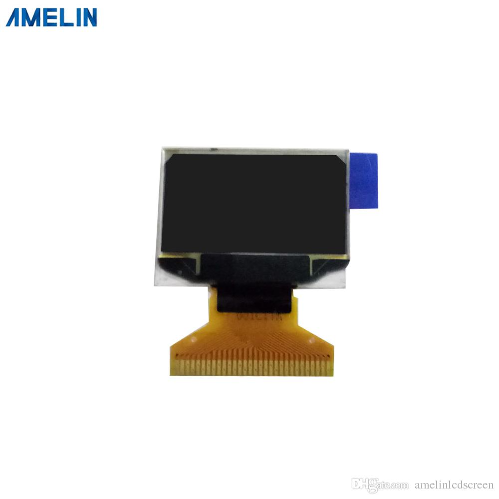 0 96 inch OLED LCD 128x64Resolution display module with White Display Color  AMOLED and SPI interface