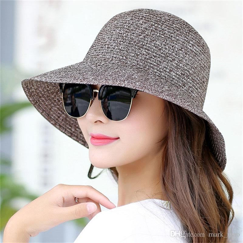 Exiliens 2018 New Lady Fashion Summer Hat Brand Women S Sun Hats