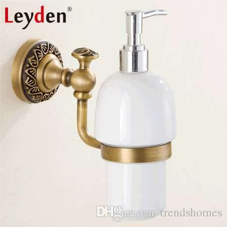2019 Leyden Luxury Wall Mounted Liquid Soap Dispenser With Antique