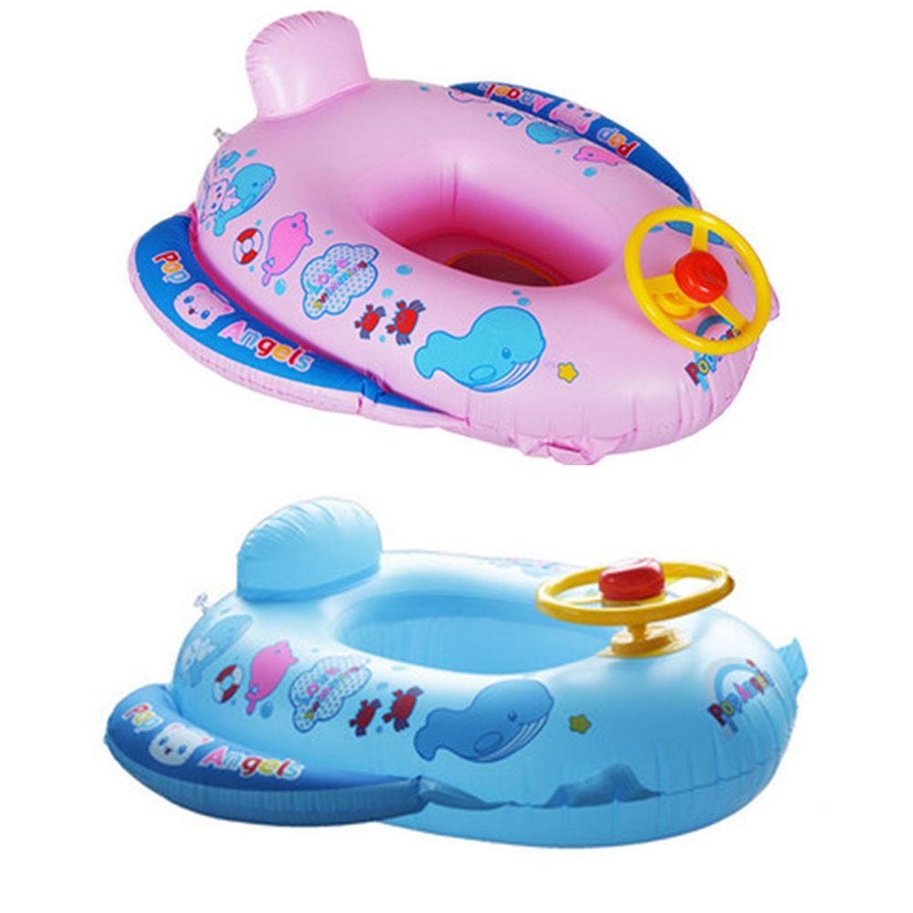 Best Pvc Baby Float Swimming Ring Inflatable Car Steering Wheel Seat ...