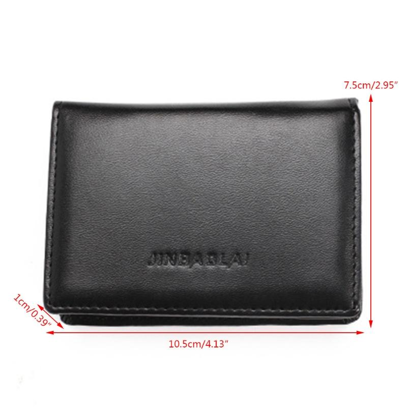 Card & Id Holders New Arrive Rfid Wallet Men Small Bifold Faux Leather Pocket Money Id Credit Card Holder Back To Search Resultsluggage & Bags