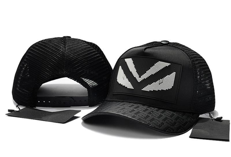 ea250d5cf45 Top Quality Mesh Baseball Caps Fashion Designer Patchwork Couple Cap  Popular Hip Hop Snapback Hats Outdoor Casual Visor Caps Summer Style Baseball  Caps ...