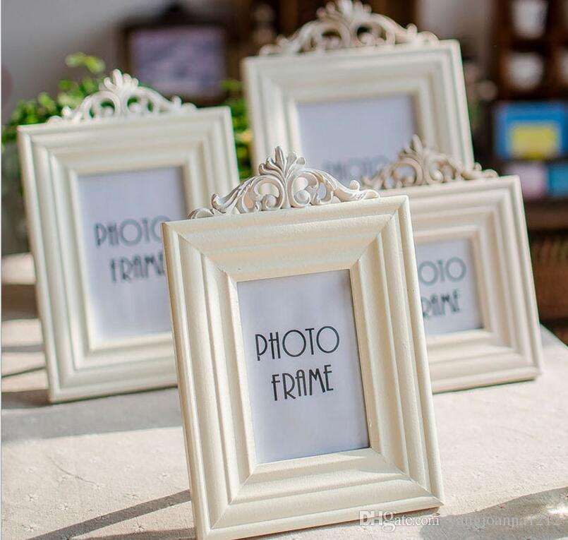Wholesale 3/5/6/7 European Wooden Photo Frames Creative White Frames ...