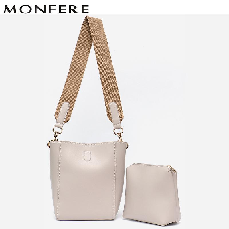 72d2a98c8 MONFERE 2018 New Designer Crossbody Bag Baby Bag Set Fashion Women Bags  Messenger Handbags Women Famous Brands Tote Shoulder Purses For Sale  Leather Purse ...