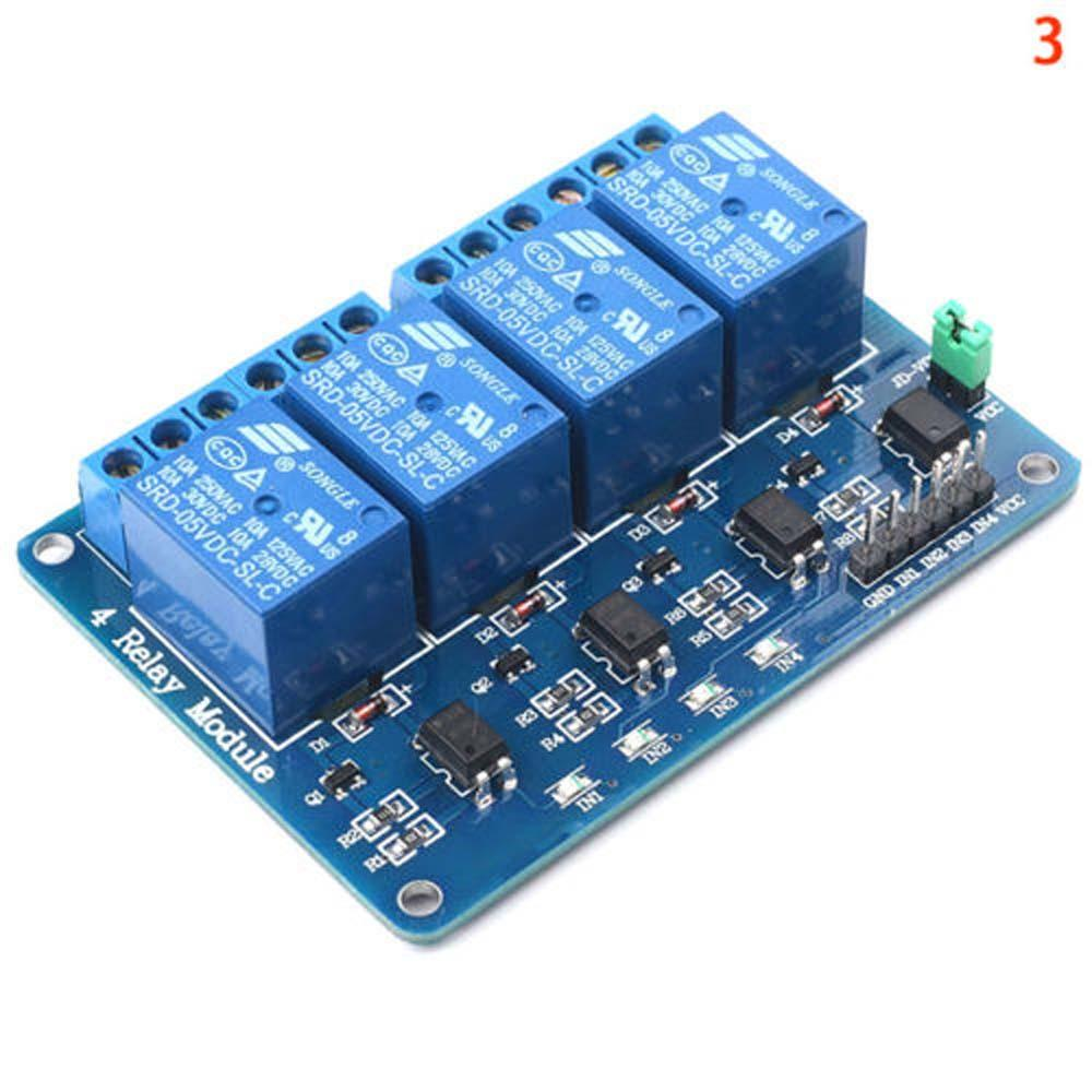 New 5V 1/2/4/8/16 Channel Relay Board Module Optocoupler LED for Arduino PiC ARM AVR