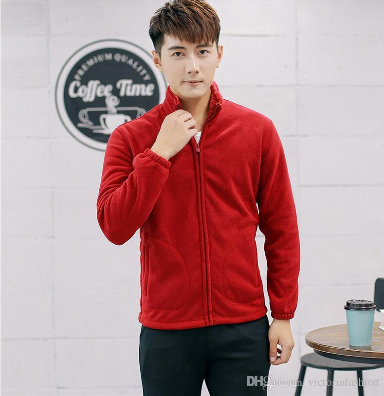 Autumn/winter hot style men's jacket/sweater slim fit/fleece thickening men's casual sport jacket