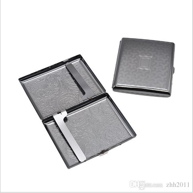 Caixa de cigarro de metal de lata de caixa de 20 cigarros