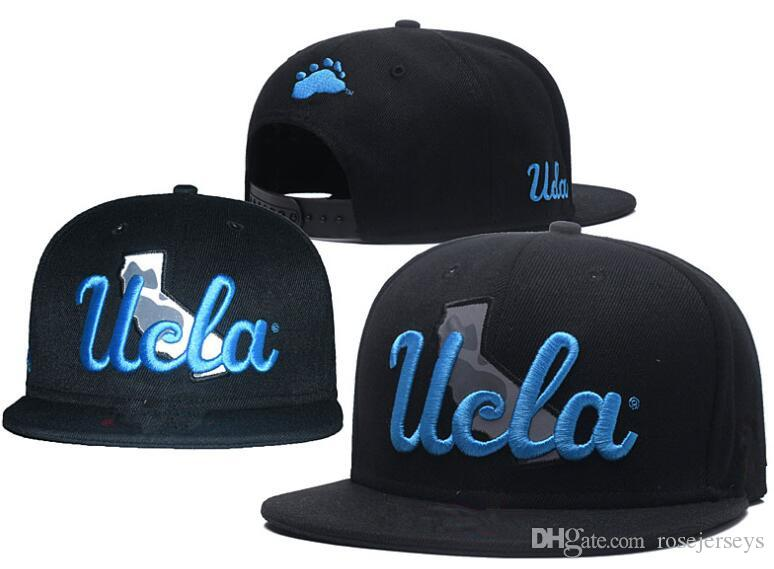 22540f3d96a70 2019 NCAA UCLA Bruins Caps 2018 New College Adjustable Hats All University  Snapback In Stock Mix Match Wholesale Order Black Blue One Size From  Rosejerseys