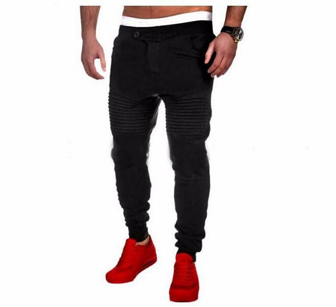 New Sports Pants For Men Spring Autumn Jogger Casual Slim Fit Long Pencil Pants Male Designer Long Trousers