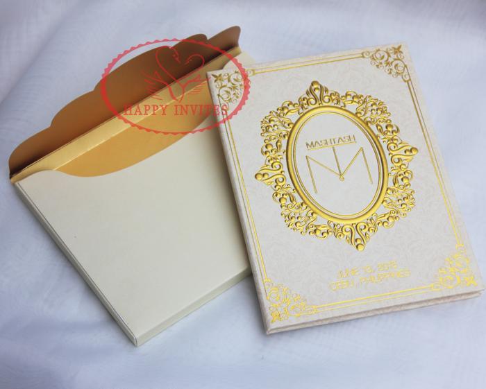 HI1089 Customized Hard Cover Wedding Invitation Cards In India Style Love  Bird Wedding Invitations Plain Wedding Invitations From Hongxuanstore03 e2804896096f