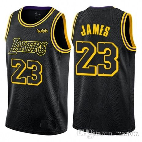 e1b81bbc83b ... mens los angeles lakers 23 lebron james authentic black city edition  jersey cheap icon edition cheap