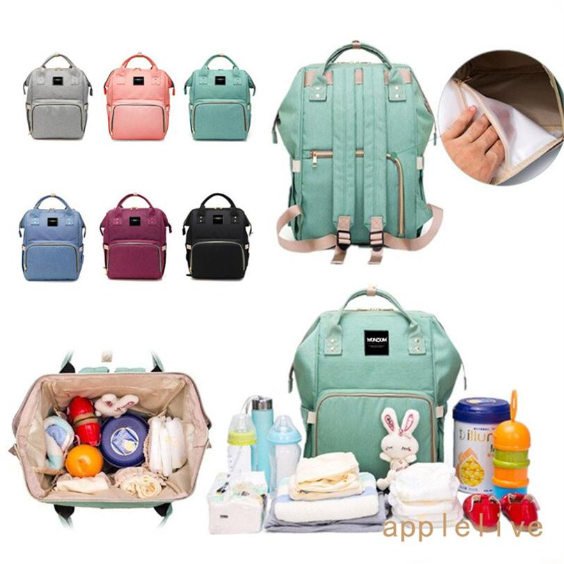 463a0a41395d Wholesale Diaper Bag Backpack Nappy Baby Boys Girls Mommy Tote- Designer  Style-Wet Dry Separation-Multi Function Large Travel Bags