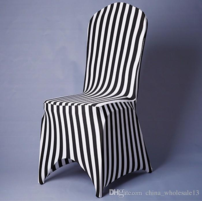Piece White And Black Chair Covers Zebra Striped Pattern Chair Covers Lycra  Spandex Fancy Chair Skirt Ruffle For Sale Aei 051 Rent Chair Covers For  Weddings ...