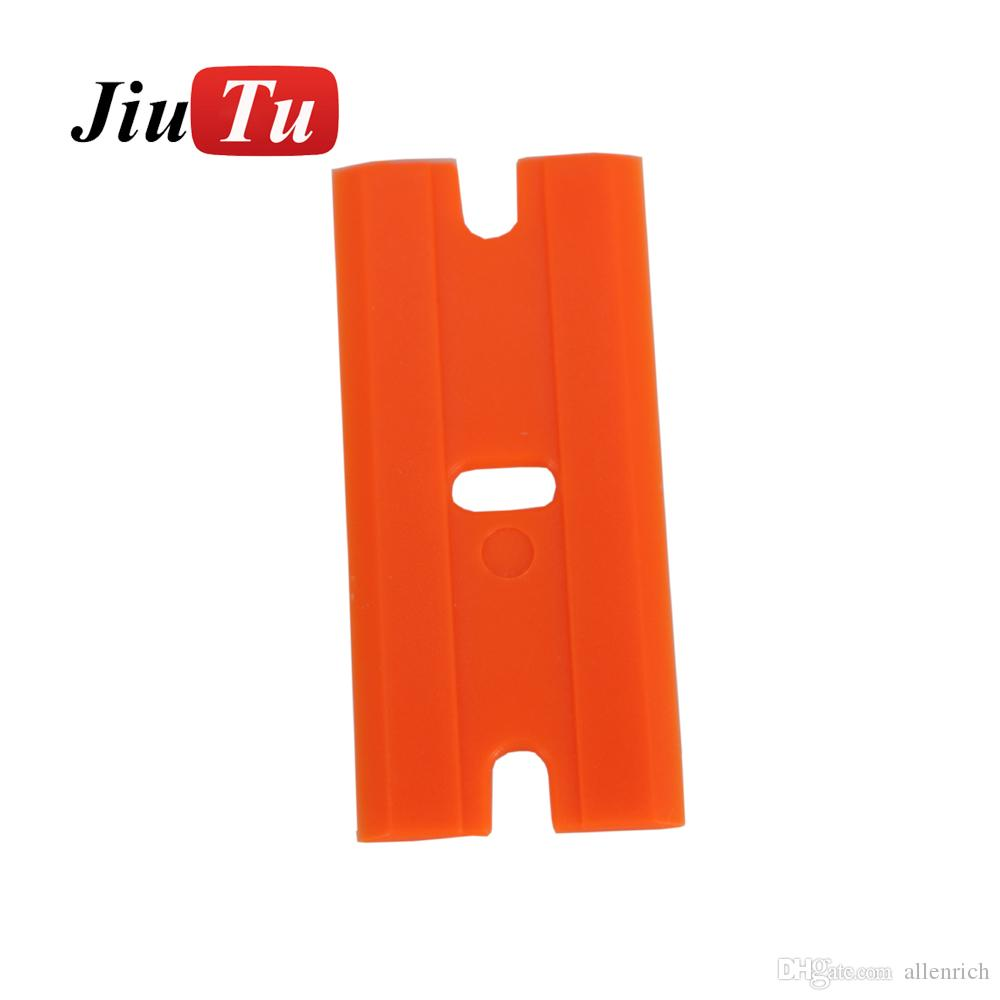 JiuTu Plastic Razor Blades for Razor Scraper Window Car Cleaning Tool Vinyl Tinting Tool Sticker Glue Remove Squeegee