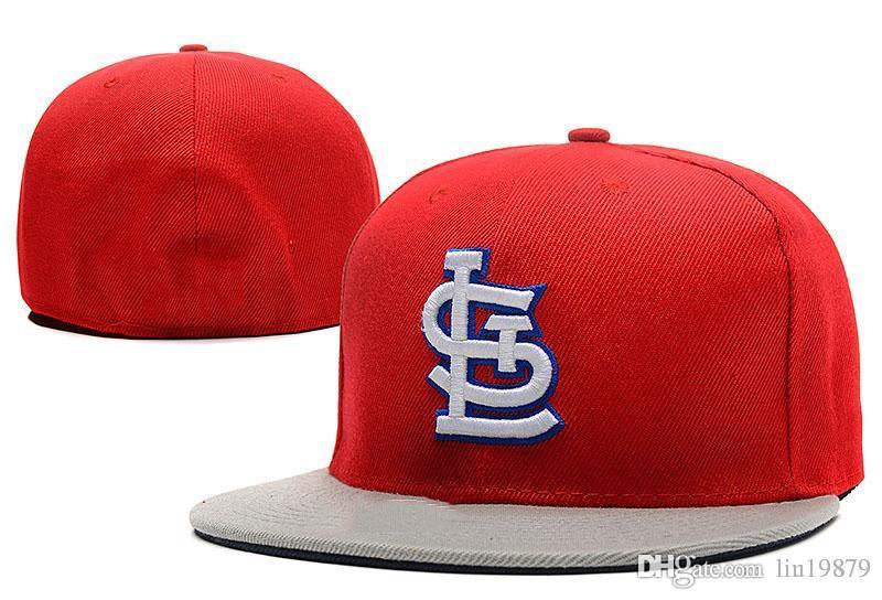 New Style Hip Hop Cardinals SL Letter Baseball Caps Bones Gorra ... e08c0f0ea8c