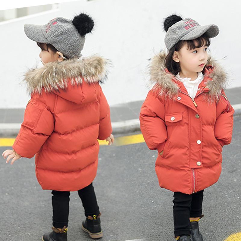 finest selection b65b9 c4e51 Piumini corti in pelliccia stile coreano da ragazza, con cappuccio, inverno  freddo, parka, casuali, piumini invernali