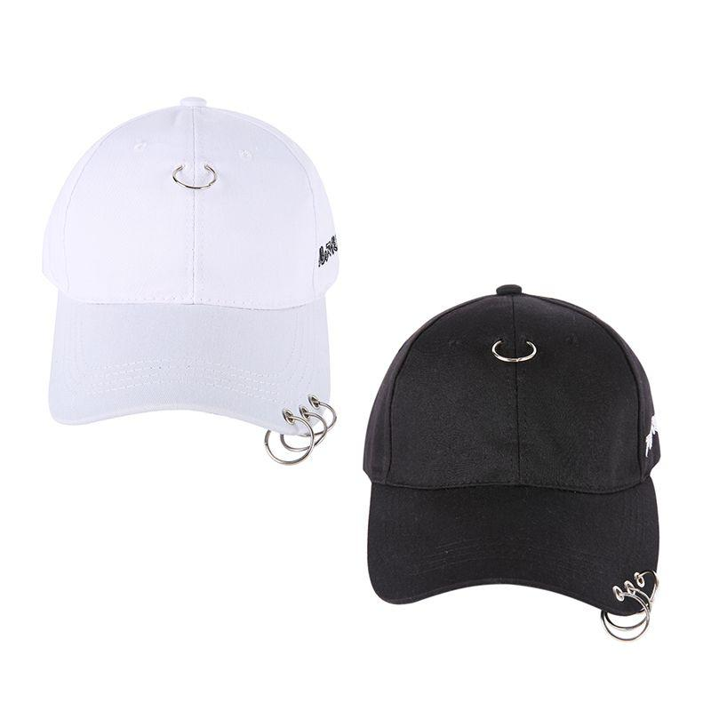 63d57054058 2019 2018 Golf With Ring Cap Clip Ring Male   Woman Embroidery Cotton  Unisex Snapback Hip Hop Hat Baseball Gravity Falls Cap From Curtainy