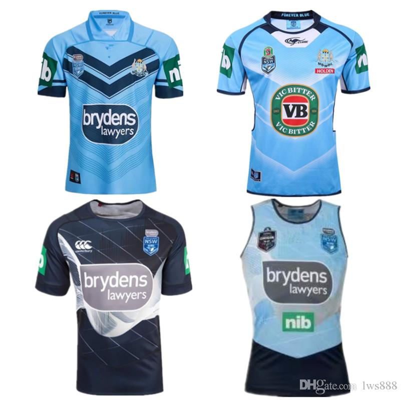 Compre 2018 Nsw Blues Jersey Jerseys Tallas S 3xl Nsw Soo 2018 Jersey  Queensland Maroons 2018 Newcastle Knights Rugby A  16.4 Del Lws888  c1061e713bd