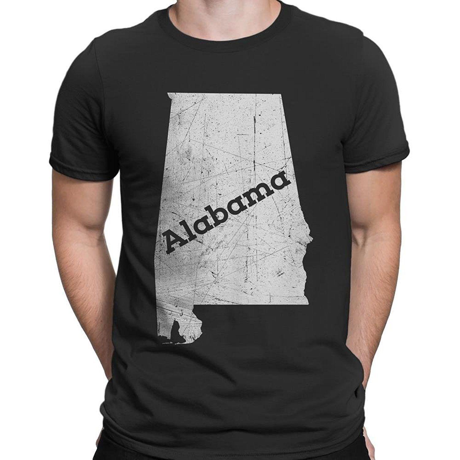 ceddffb715e Nyc Factory Alabama Mens Tee Home State T Shirt Alabama Mens Tee Black S  Cool Looking T Shirts Buy Designer Shirts From Lm35tshirt