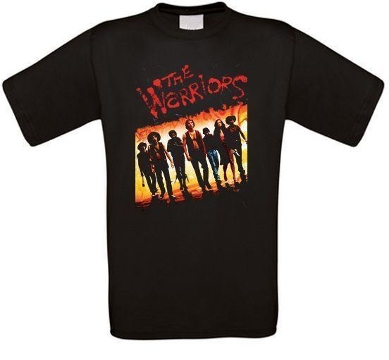 The Warriors New York Gangs Fight Music Cult Movie T-Shirt all sizes New