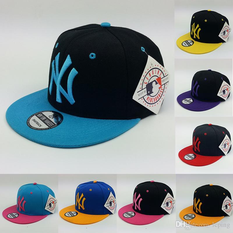 d534b7d289acc Compre Diseñador De Moda Sombrero NY LOGO Snapback Gorra De Béisbol Nuevas  Gorras De Béisbol Recreativas Sombrero Para Hombre Mujeres Gorras De  Béisbol ...