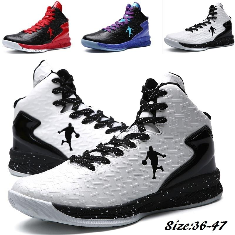 Sycatree 2018 New Style Man Women Boots Fashion High Tops PU Vamp Basketball  Shoes Outdoor Sport Shoes Plus Size 36 47 Fly Boots Skechers Boots From  Bowdown ... 8f7a0d32c