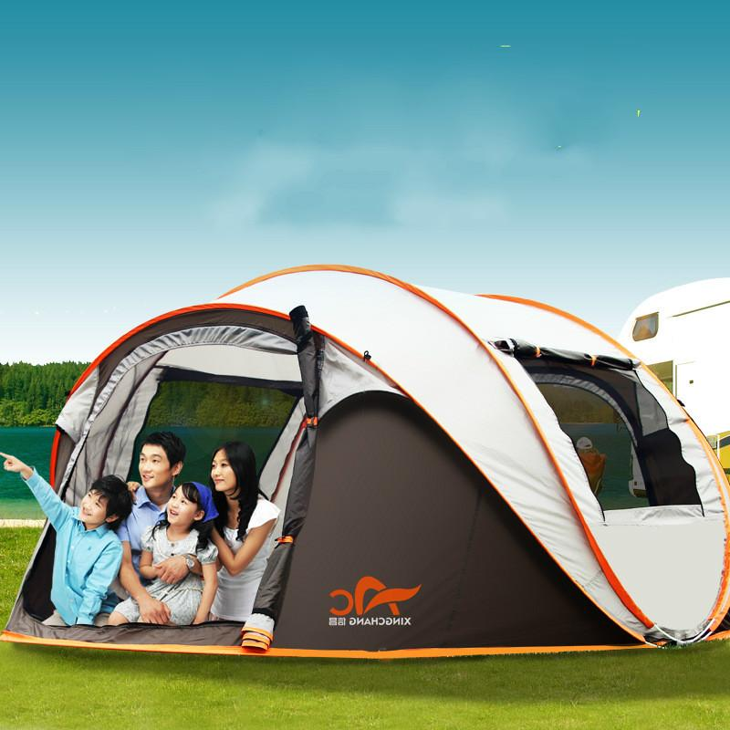 5 8 Person Tourist Tent Outdoor C&ing Beach Nature Hike Pop Up Tent Travel Gear Waterproof Automastic Carp Outside Family Tent Manufacturers Discount ...  sc 1 st  DHgate & 5 8 Person Tourist Tent Outdoor Camping Beach Nature Hike Pop Up ...