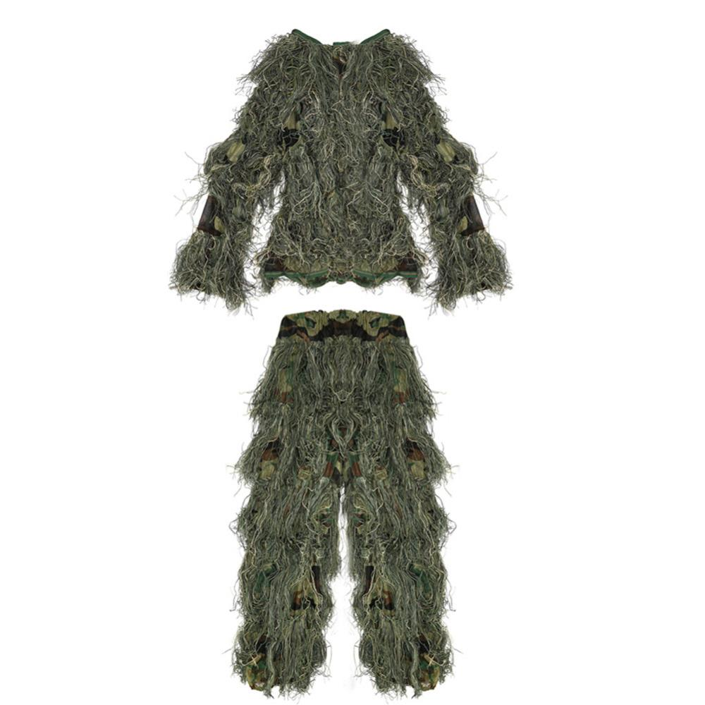 99ca5941714b4 2019 Pellor Children Kids 3D Broken Filament Camouflage Clothing Ghillie  Suit Camouflage Suit For Outdoor Jungle Woodland Hunting CS From Booket, ...