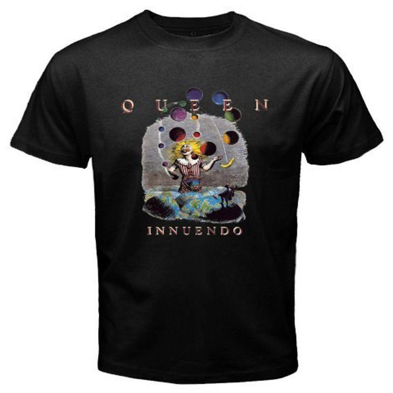 7125ffee New Queen Innuendo Rock Band Legend T Shirt T Shirt Deals Humor Shirts From  Amesion96, $12.08| DHgate.Com