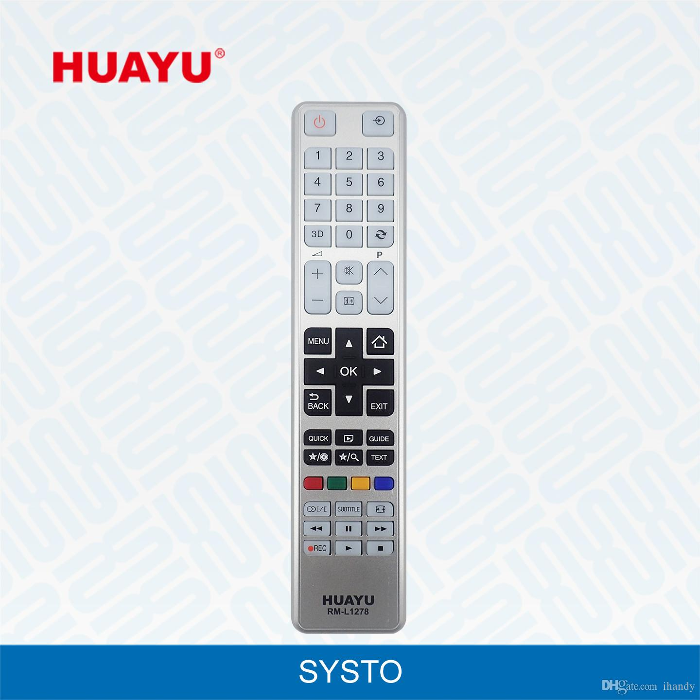 Wholesale HUAYU Brand Hot Sale tv remote control RM-L1278 suitable  universal use for all TOSHIBA LCD/LED/HD tv