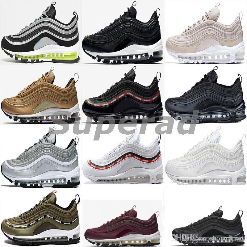 Cushion 97 Mens Low Running Shoes Cushion Men Women Size OG Silver ... 2483094eb