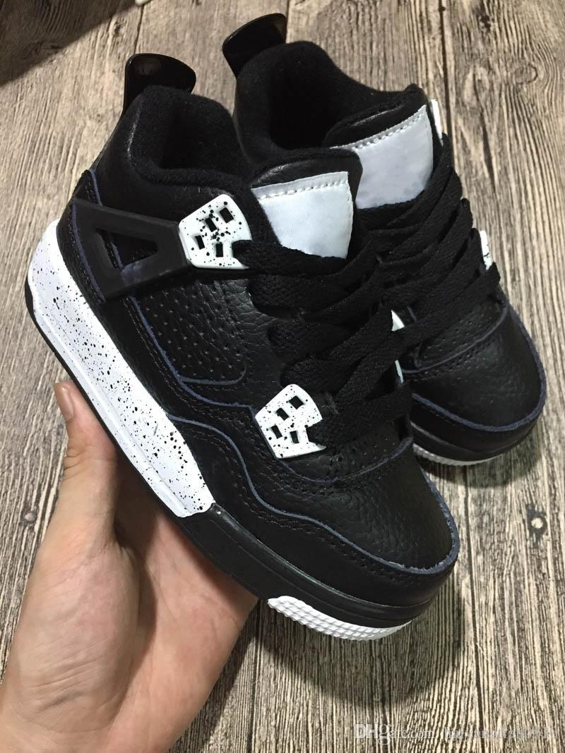 new style d13a3 11af7 jordan aj4  acheter nike air jordan aj4 baby kids shoes 4 iv chaussures de  basket chirldren garçons filles