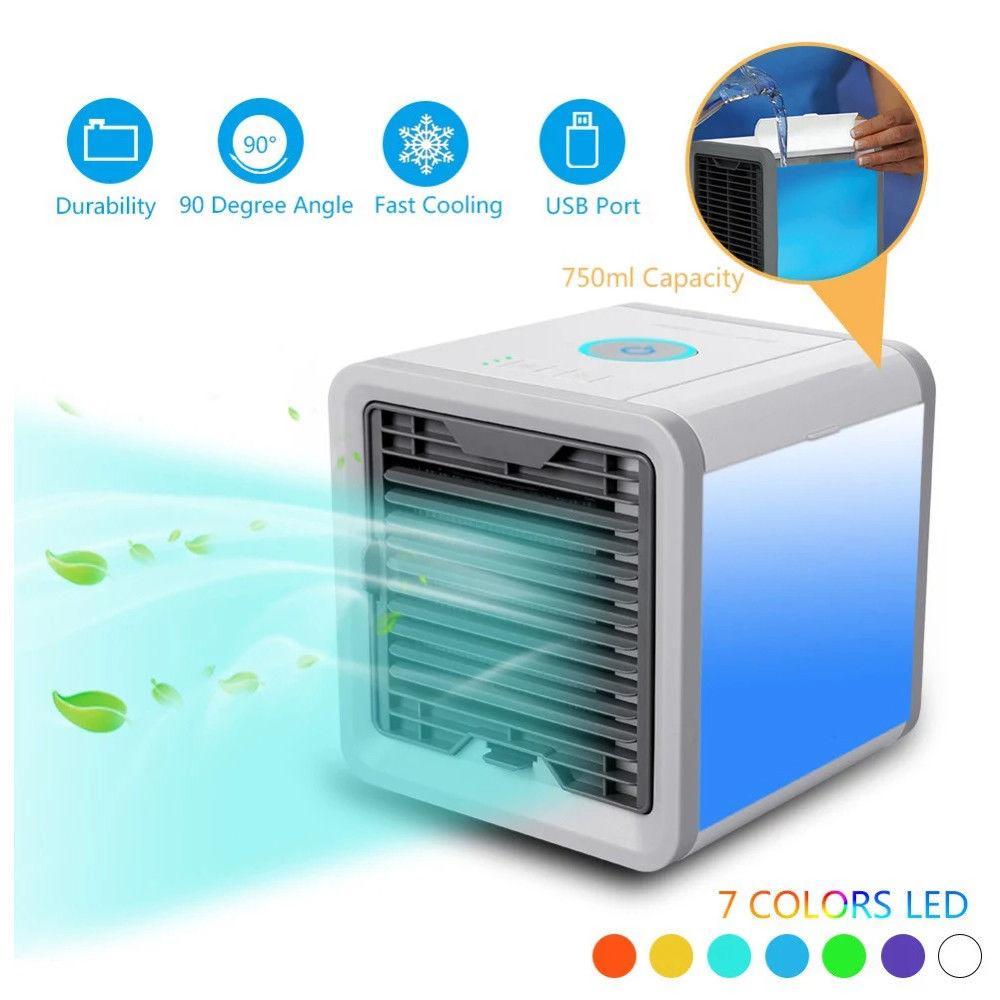 Air Cooler Fan Air Personal Space Cooler Portable Mini Air