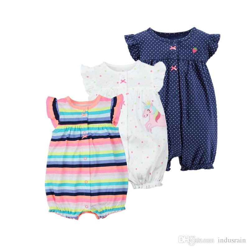66f330c47 2019 2018 Orangemom Baby Girl Clothes One Pieces Jumpsuits Baby ...