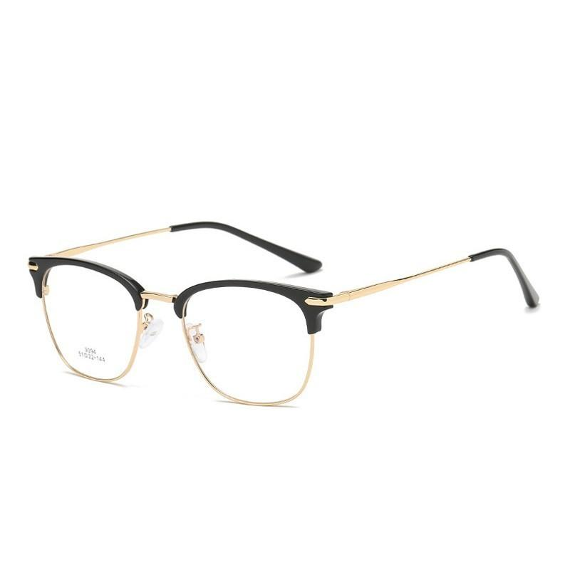 9873acd0b4 Yok s Vintage Square Clear Eyeglasses Frame Women Men Ultralight ...