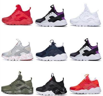 4b984c1cc6f22 Kids Big Boy Mens Human Race Ultra Run IV Classical Running Shoes Black  White Oreo Grey Huarache Shoes Mens Womens Running Shoes Sneakers Running  Spikes ...