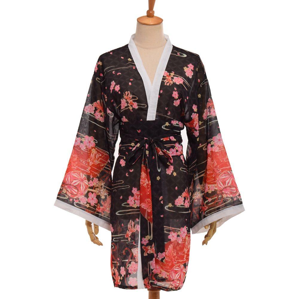 856b30bdc 2019 Japanese Style Sakura Kimono Cardigan Yukata From Honjiao, $27.54    DHgate.Com