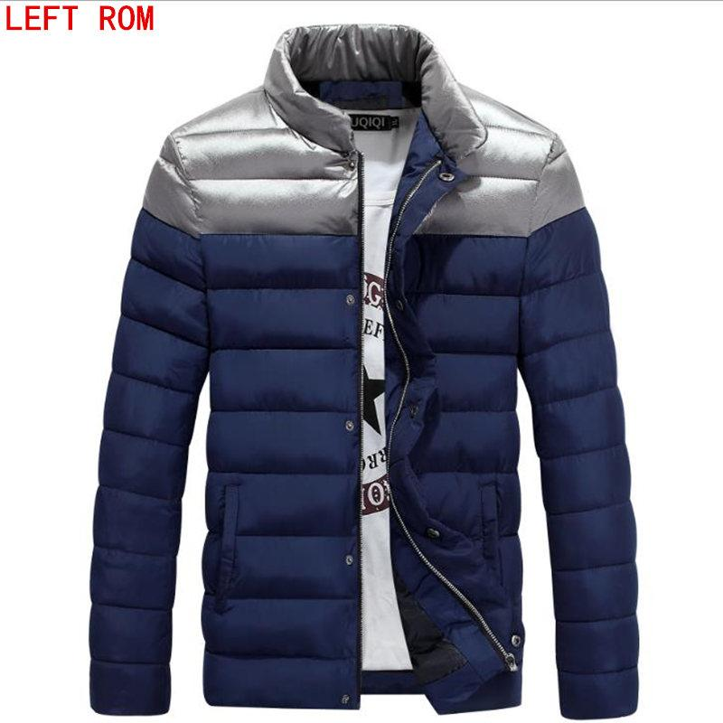 a86c5fbc11f 2019 Autumn Winter Man Duck Down Jacket Ultra Light Thin Plus Size Spring  Jackets Men Stand Collar Outerwear Stitching Slim Coat From Keviny