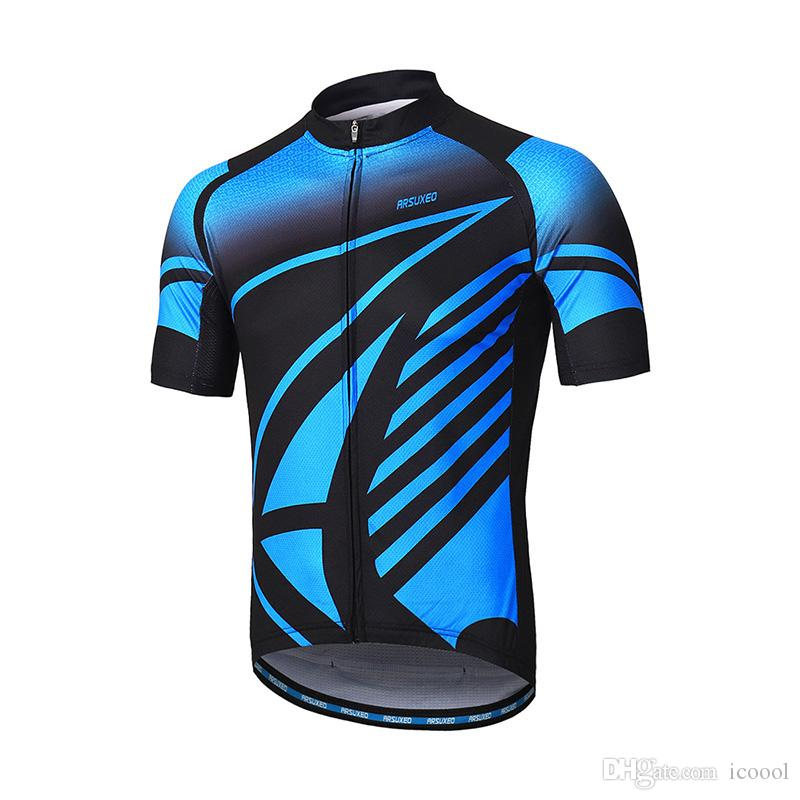 68bb3e9391a Wholesale Mens Cycling Jersey Short Sleeves Mountain Bike Bicycle ...